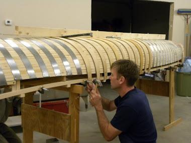 New canoe build
