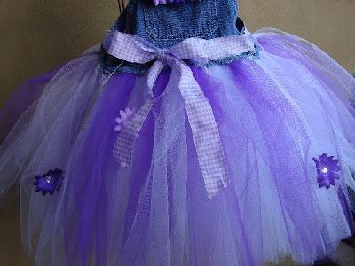 Posh Baby Couture More Denim Tutu S