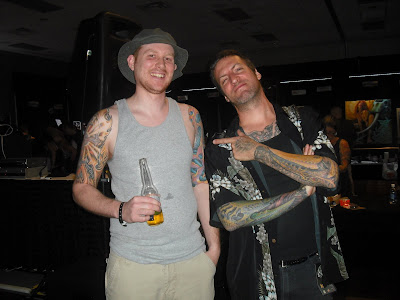 Me & my favorite tattoo artist Guy Aitchison