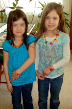 My twin grand daughter's
