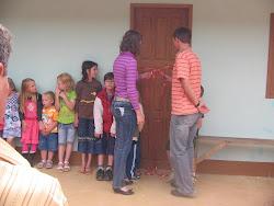 Ato cívico da abertura!
