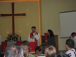 Intalação do pastor Wilmuth