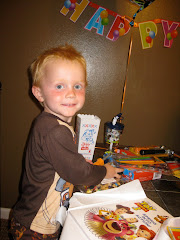 Nolan turns 3!