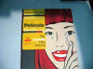 Pelicula, 5th Spanish Film Festival