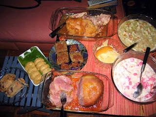 Noche Buena feast