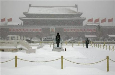 Beijing Weather Coldest In Decades