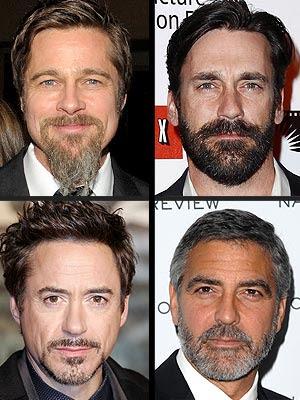 Brad Pitt Beard Sexy or Disgusting?