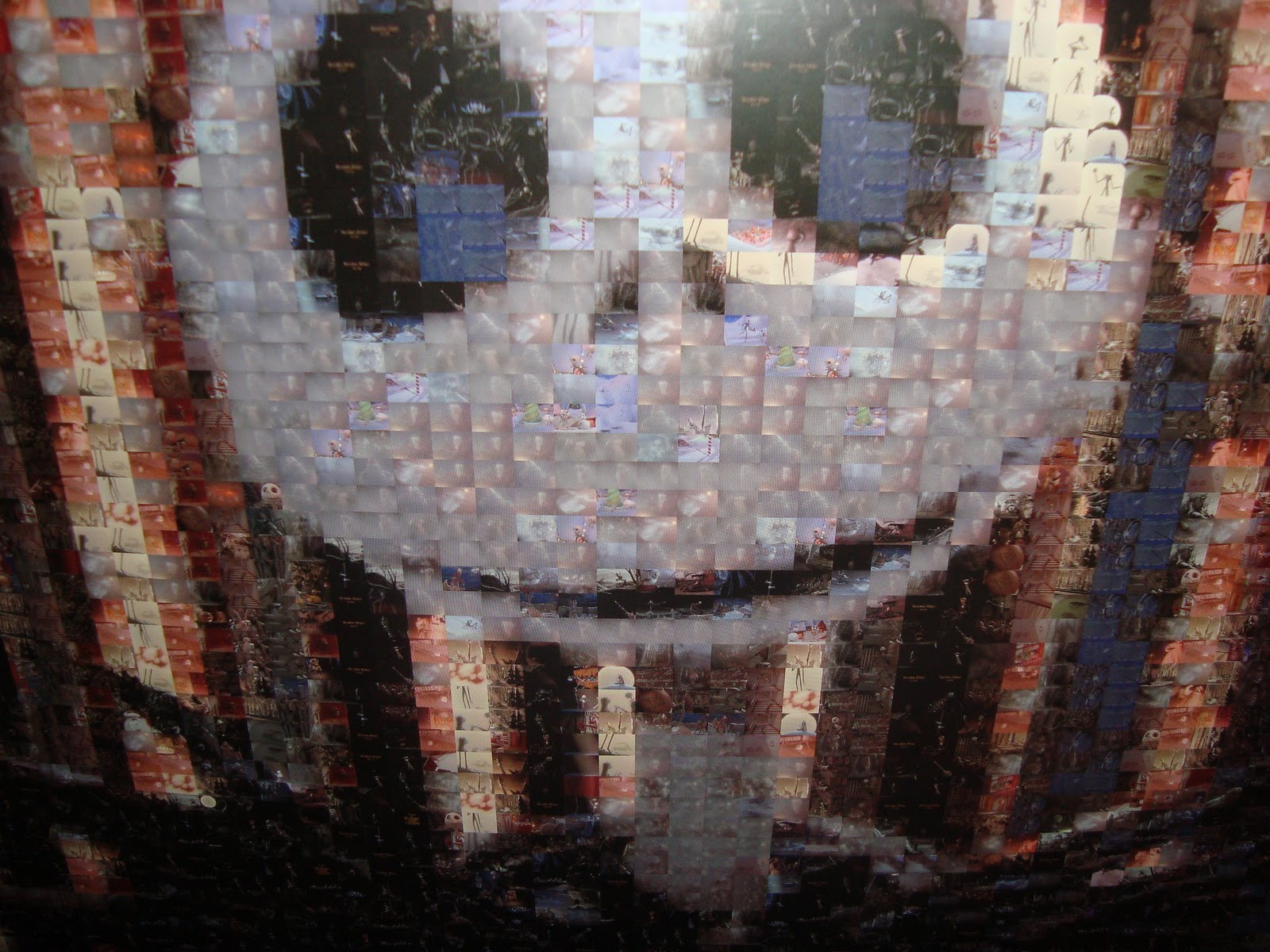 Disney Pixar Fanatics: Robert Silvers Photomosaic