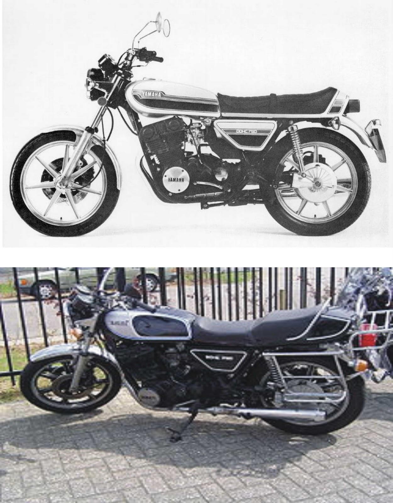 Motorcycles Manufacturer Yamaha Motor Company Xs 750