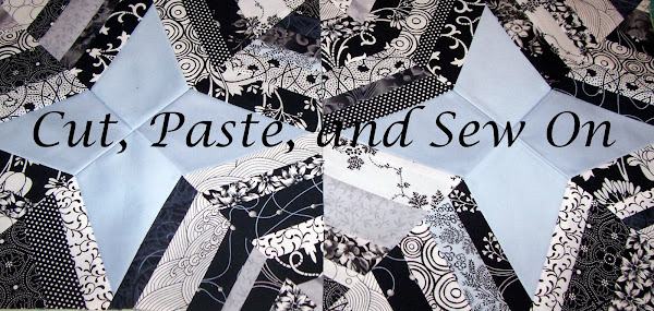 Cut, Paste and Sew On