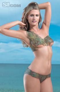 julie henderson bikini body painting