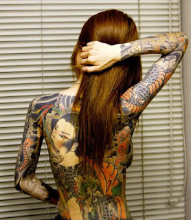 Tattoo girls all body