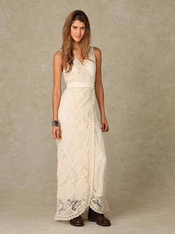 Affordable HippieInspired Wedding Dresses