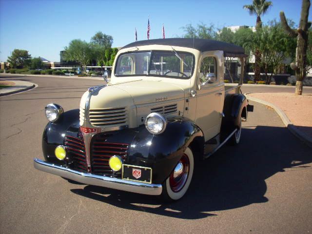 & Liquidation Site: 1947 Dodge Canopy Express Truck - $32300