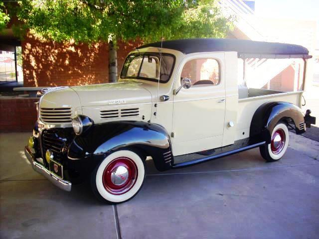 1947 Dodge Canopy Express Truck - $32300 & Liquidation Site: 1947 Dodge Canopy Express Truck - $32300