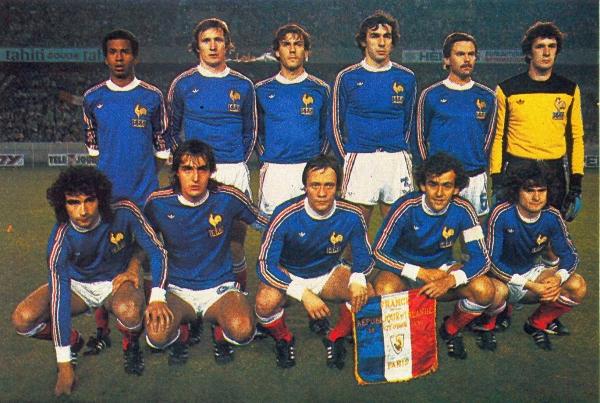 Football retro 1980 equipe de france france eire 2 0 - Coupe du monde de foot 1982 ...