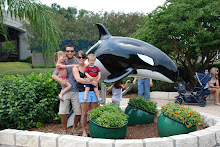 The family with Shamu