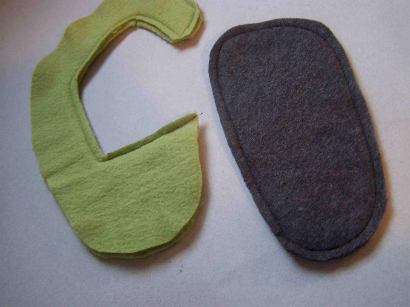 how to make fleece slippers