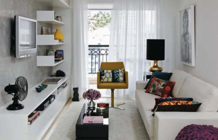 small apartment modern interior design 1 Mejorar el espacio Accesorios interiores para apartamentos pequeños