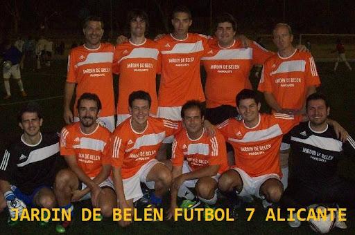 Jardín de Belén Fútbol 7 en Alicante