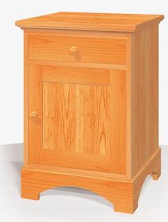 Night stand free woodworking project plans for Free nightstand woodworking plans