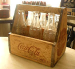 SIX PACK CRATE COCA-COLA