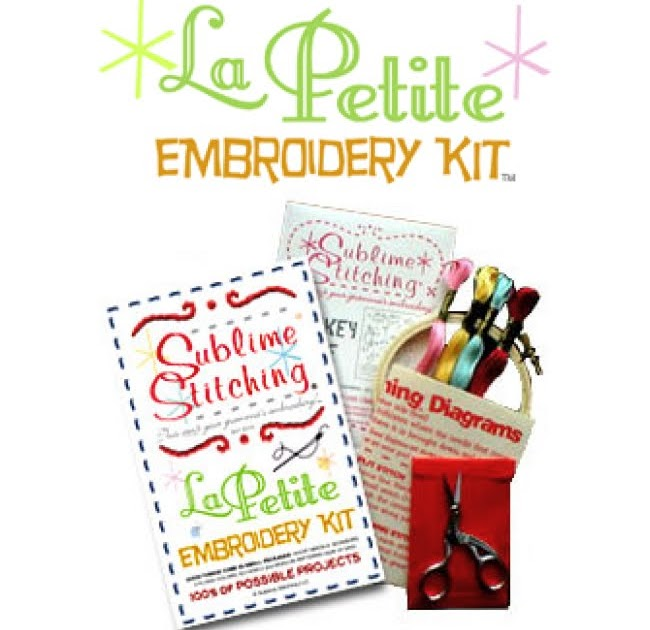 Weekend kits hand embroidery easy for beginners