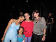Presentaciòn final Invernadero Danza 2009,Rosario, Natalia T., Christine Dakin y Amineh López Habib