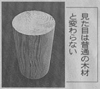 ガラス化した木材(日経新聞)