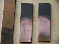 銅箔の金メッキ2