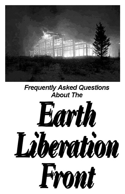 a description of the animal liberation front on domestic terrorists The fbi defines domestic terrorism as americans  an energy facility and deliberately set fires as part of his activist work with the earth liberation front and the animal liberation front.