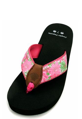 pink prep flip flop fanatic