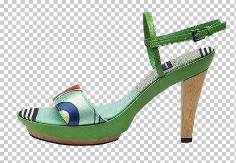 zapatos anos 60: