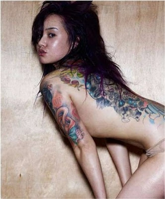 Japanese or Chinese tattoos Hot Chinese Tattoo's