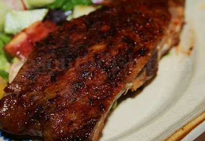 Memphis Style Dry Rub Grilled Ribs