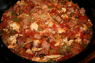 jambalaya and rice dishes oven baked cajun chicken and sausage