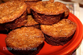 Deep South Dish: Southern Pecan Pie Muffins