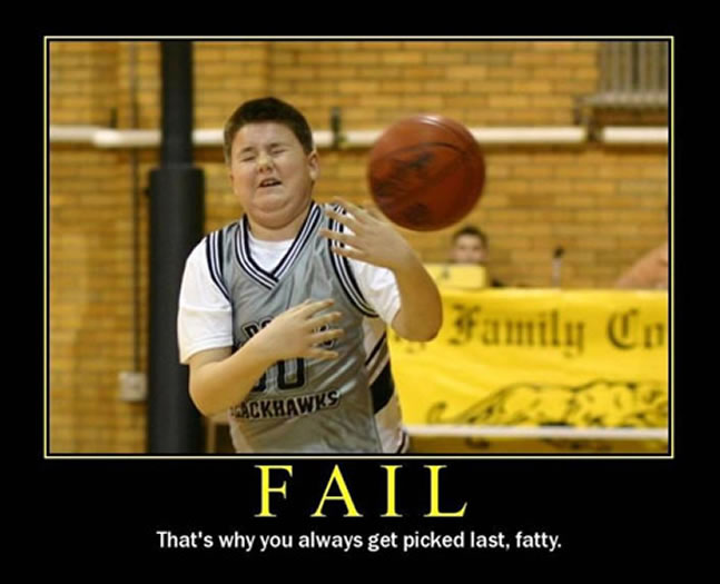 fat people fail