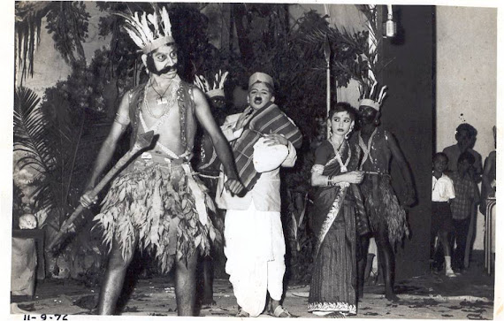 22.Aniruddha N Gudi  ( Second Left )`Hridayadegula`Adilshahi Play 1976