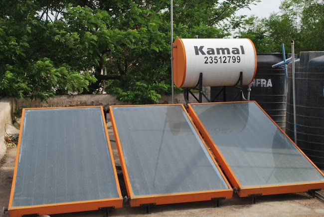 Solar water heaters (4)