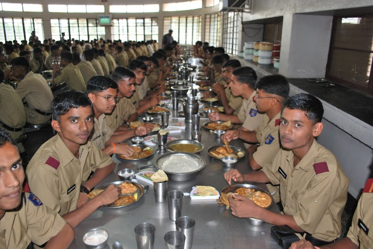 Cadets in the Mess- Chalukya table
