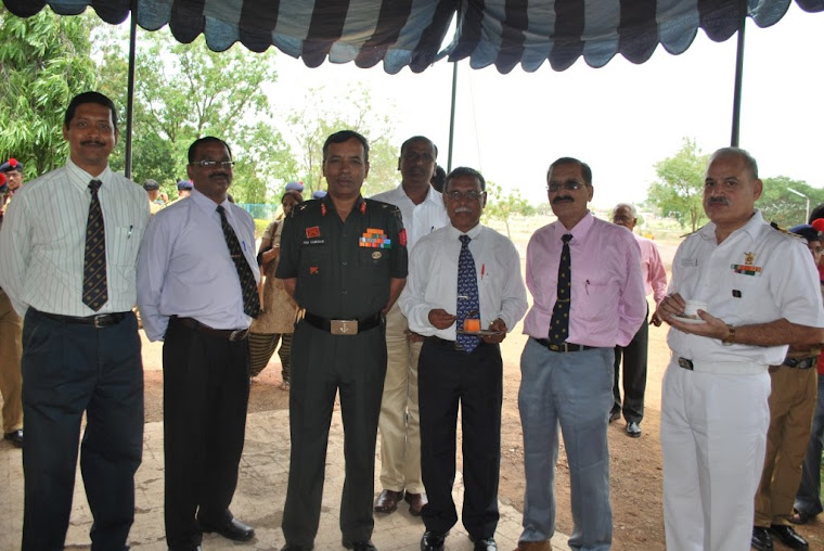 Maj Gen VSS Goudar -Photo session- with staff