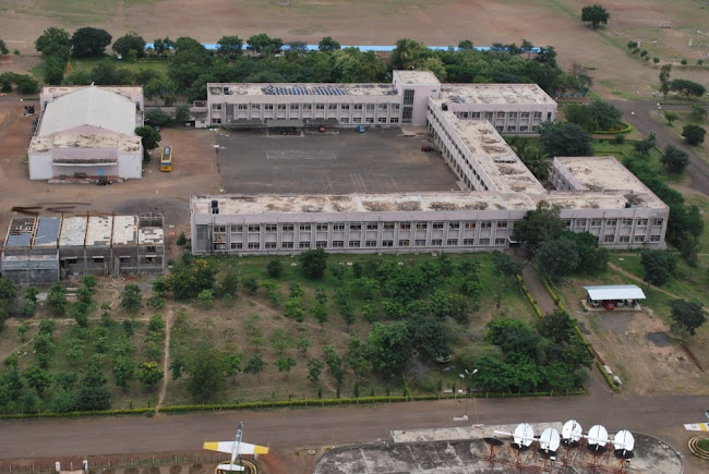 Sainik School Bijapur- mess & main building 2