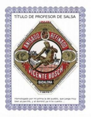 Ttulo profesor de salsa