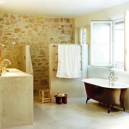 salle de bain a la chaux. le tadelakt un enduit la chaux pour ... - Salle De Bain A La Chaux