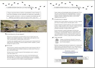 Brochure de présentation de notre voyage