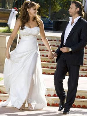 باسكال وملحم أبو شديد يتزوجان في قبرص