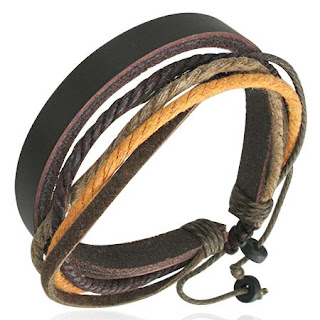 leather wristbands - Wrist Bans For Men's