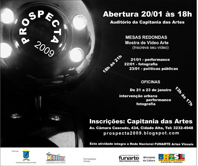 CONVITE PROSPECTA_2009 ~ PARTICIPE!