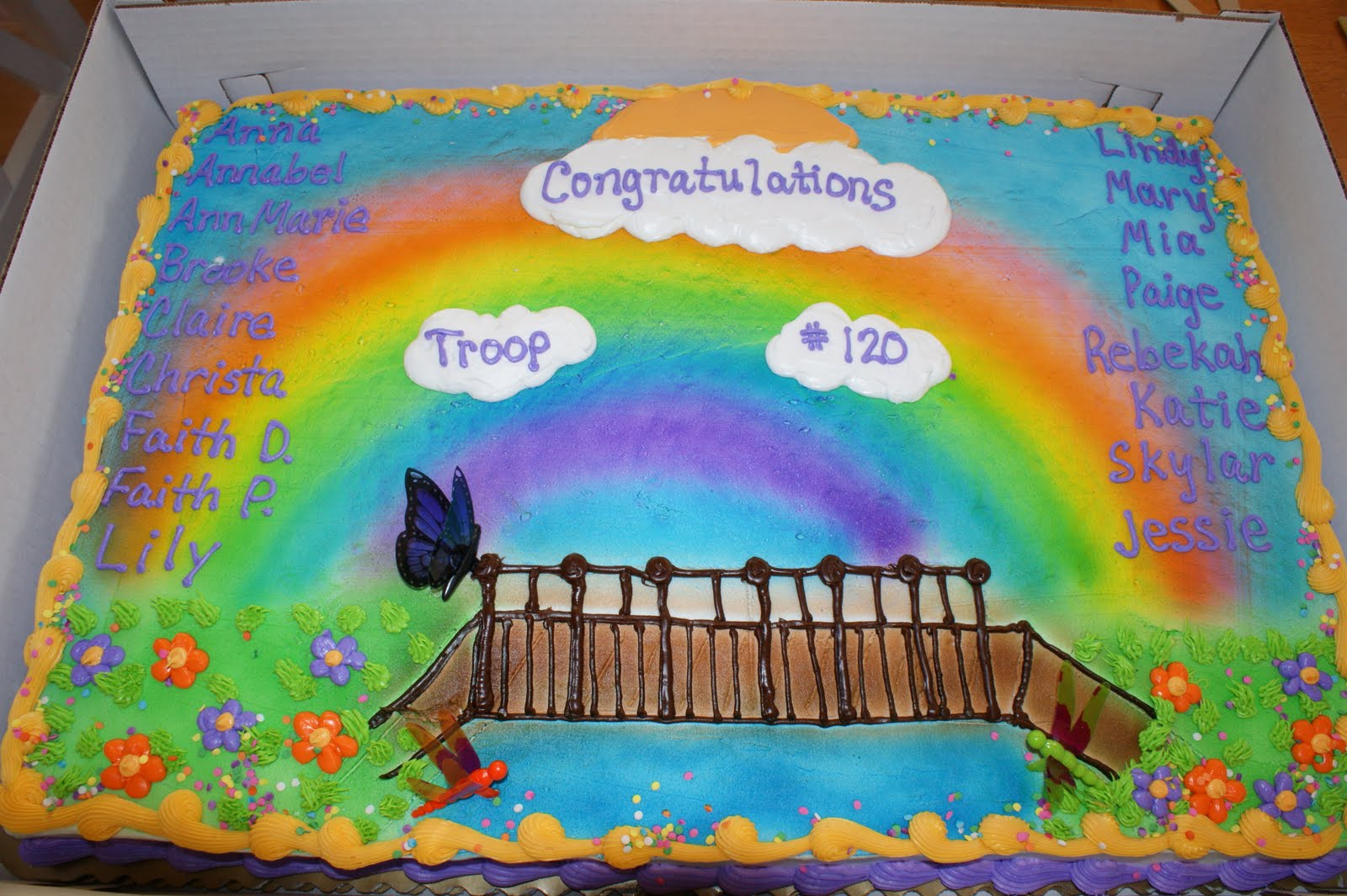 Pin Girl Scouts 100th Anniversary Cake On Pinterest